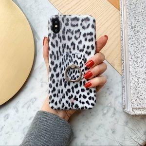 Accessories - NEW Snow Leopard iPhone Case!